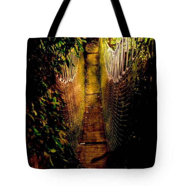 Deadly Path Tote Bag by Loriental Photography