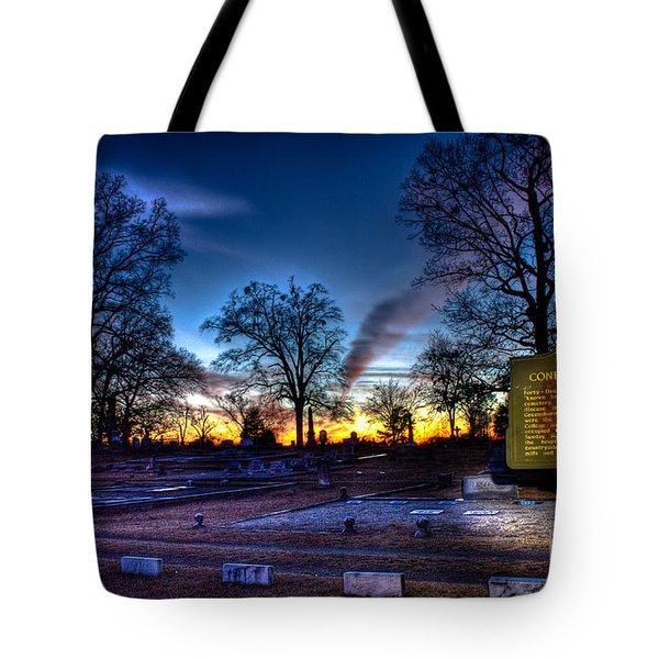 Deadly Silence    Tote Bag by Reid Callaway