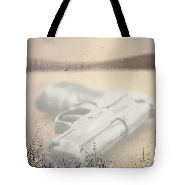 Death On Solid Water Tote Bag by Edward Fielding