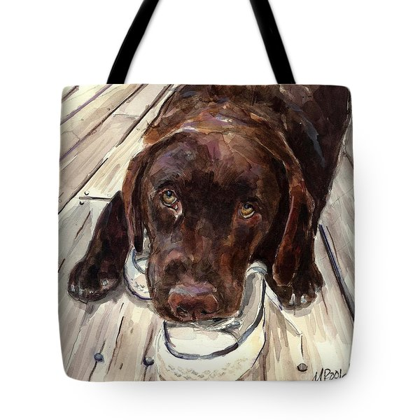 Deckhand Tote Bag by Molly Poole