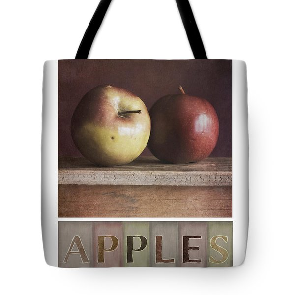 deco apples Tote Bag by Priska Wettstein