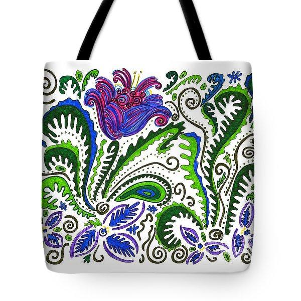Deco Garden Tote Bag by Sarah Loft