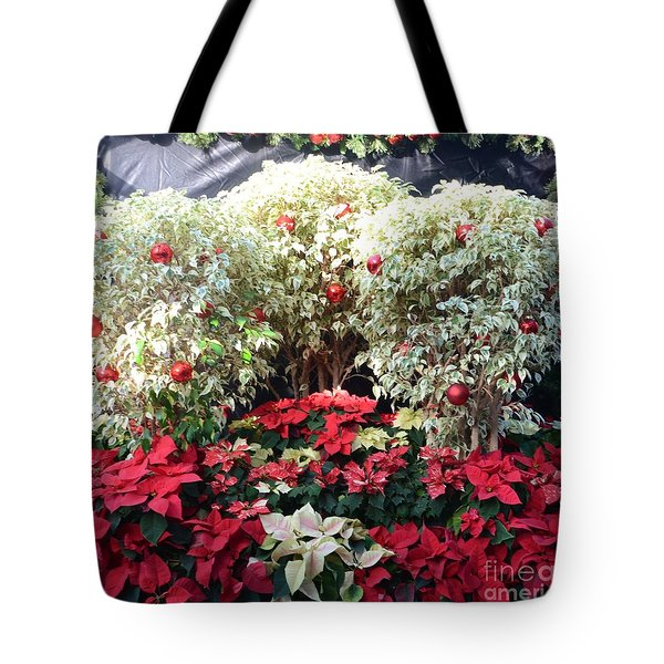 Decorated For Christmas Tote Bag by Kathleen Struckle