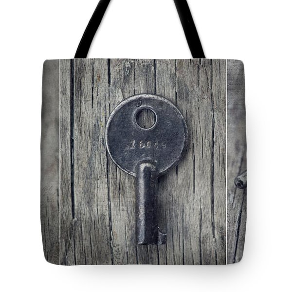 decorative vintage keys I Tote Bag by Priska Wettstein
