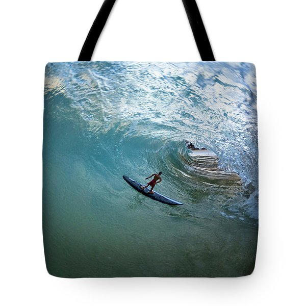 Deep Cavern Tote Bag by Sean Davey