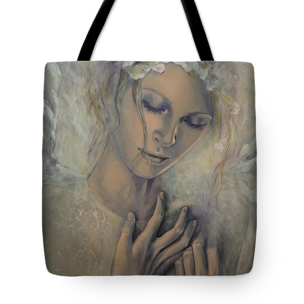 Deep Inside Tote Bag by Dorina  Costras