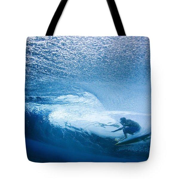 Deep Inside Tote Bag by Sean Davey