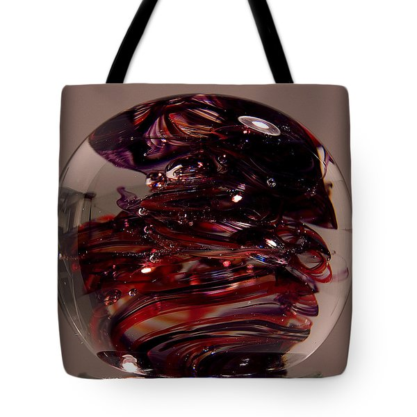 Deep Reds Prr1 Tote Bag by David Patterson
