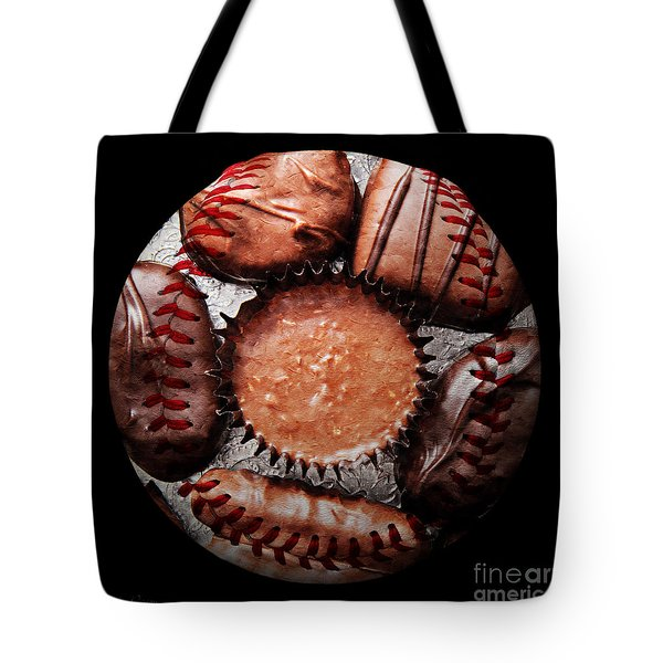 Deep Rich Chocolates Baseball Square Tote Bag by Andee Design
