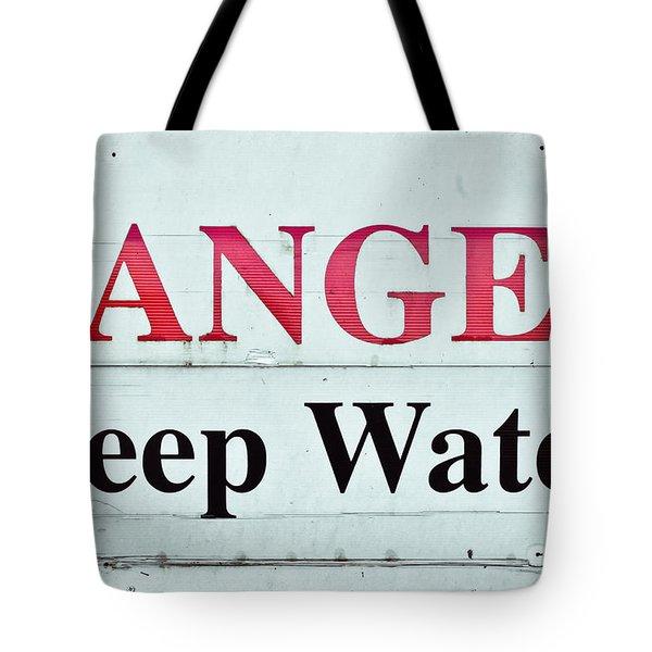 Deep Water Tote Bag by Tom Gowanlock