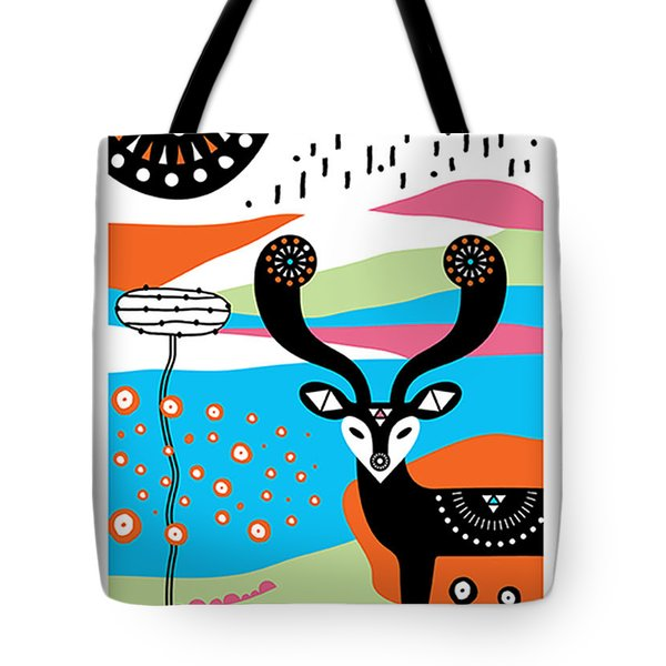 Deery Me Tote Bag by Susan Claire