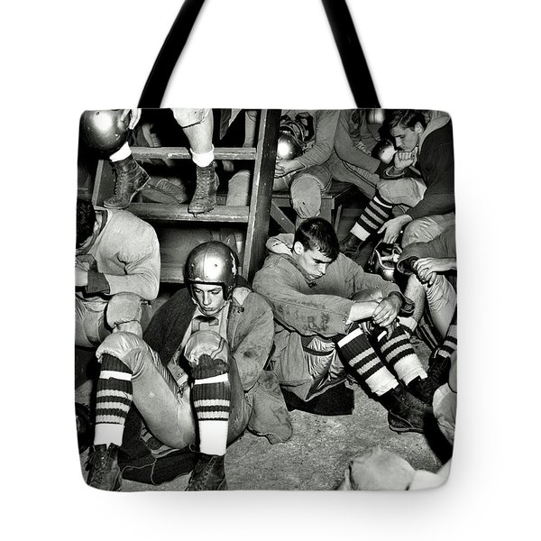 Defeated Tote Bag by Benjamin Yeager
