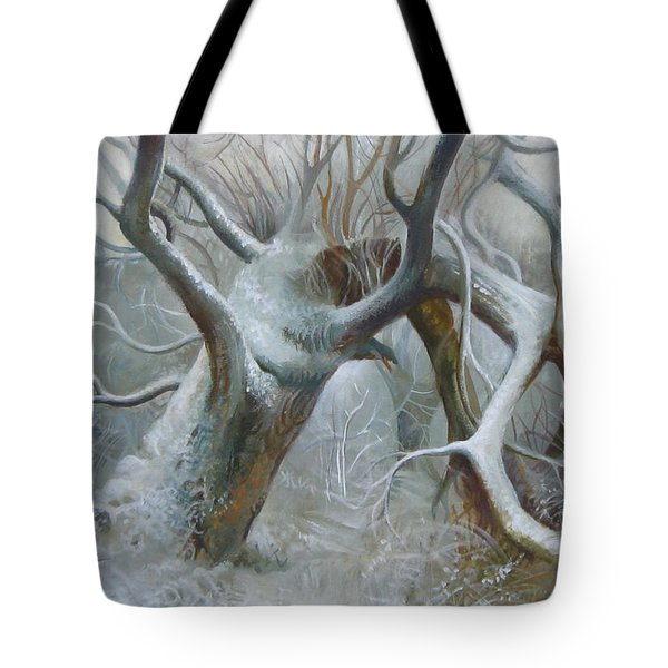 Defeated Tote Bag by Elena Oleniuc