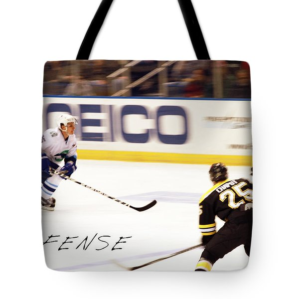 Defense Tote Bag by Karol Livote