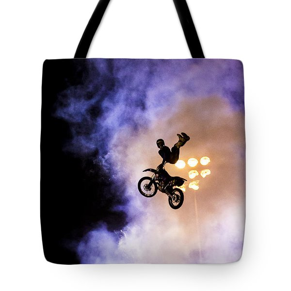 Defying Gravity Tote Bag by Caitlyn  Grasso
