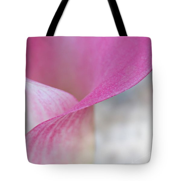 Delicate Curves Tote Bag by Kume Bryant