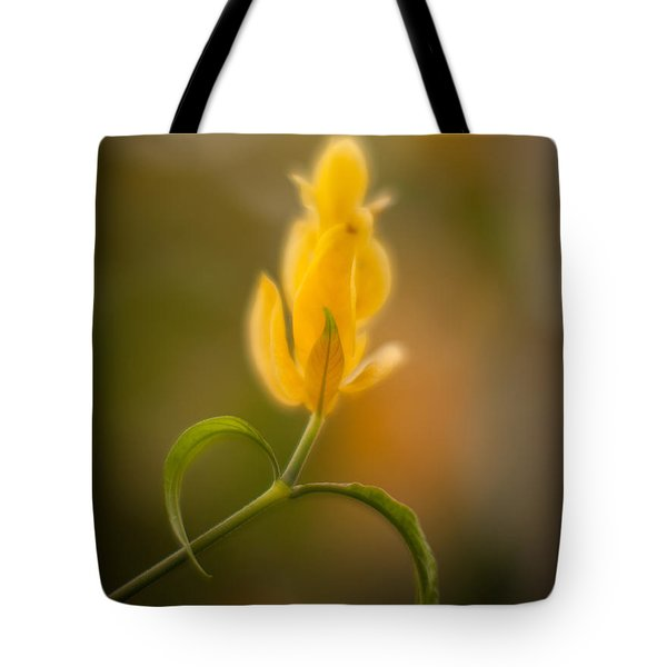 Delicate Fountain Of Gold Tote Bag by Mike Reid