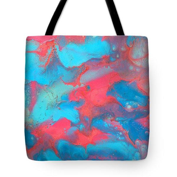 Delicate Tote Bag by Julia Apostolova