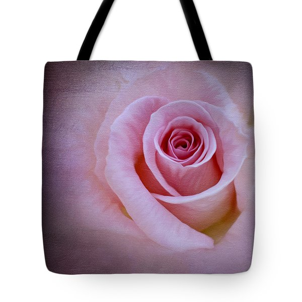 Delicately Pink Tote Bag by Ivelina G