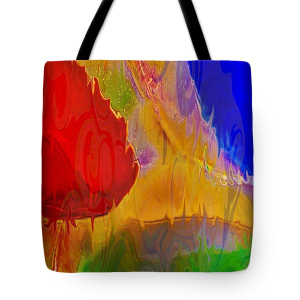 Delicious Colors Tote Bag by Omaste Witkowski