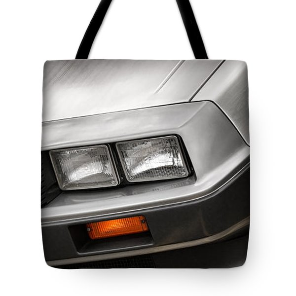 DeLorean DMC-12 Tote Bag by Gordon Dean II