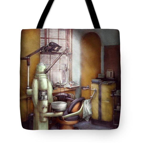 Dentist - Dental Office Circa 1940's Tote Bag by Mike Savad
