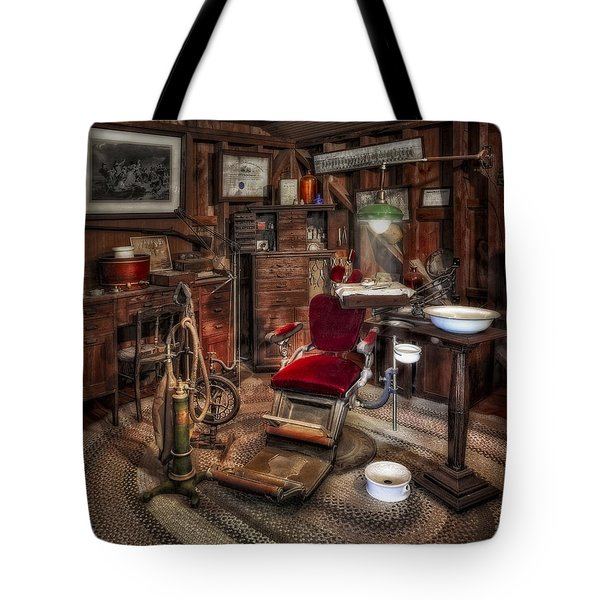 Dentist Office Tote Bag by Susan Candelario