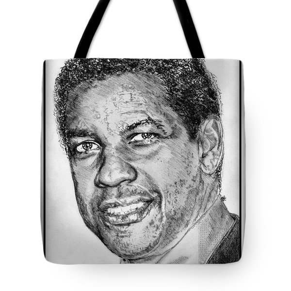 Denzel Washington in 2009 Tote Bag by J McCombie