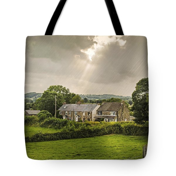 Derbyshire Cottages Tote Bag by Amanda And Christopher Elwell