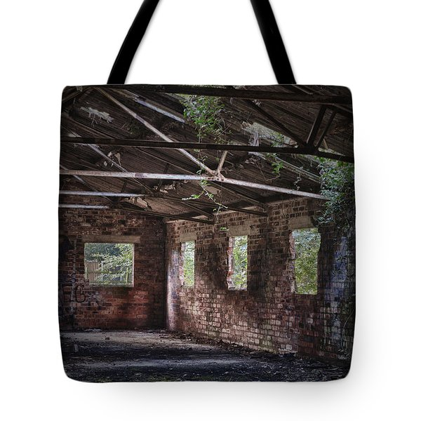 Derelict Building Tote Bag by Amanda And Christopher Elwell