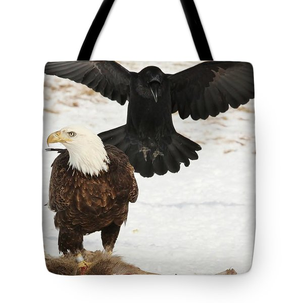 Descending Shadow Tote Bag by Teresa McGill