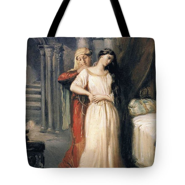 Desdemona Tote Bag by Theodore Chasseriau