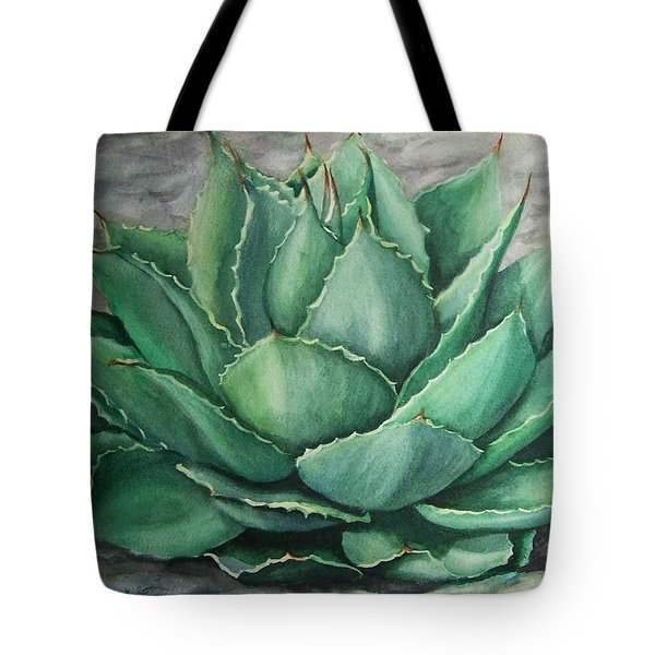 Desert Bloom Tote Bag by Conni  Reinecke