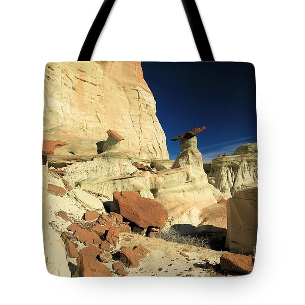 Desert Decorations Tote Bag by Adam Jewell