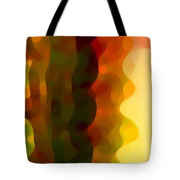 Desert Pattern 3 Tote Bag by Amy Vangsgard