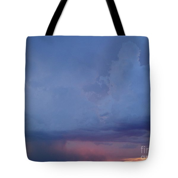 Desert Rainstorm 3 Tote Bag by Kerri Mortenson