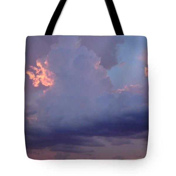 Desert Rainstorm 5 Tote Bag by Kerri Mortenson