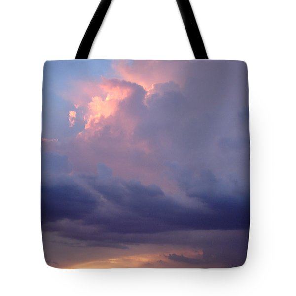 Desert Rainstorm 6 Tote Bag by Kerri Mortenson
