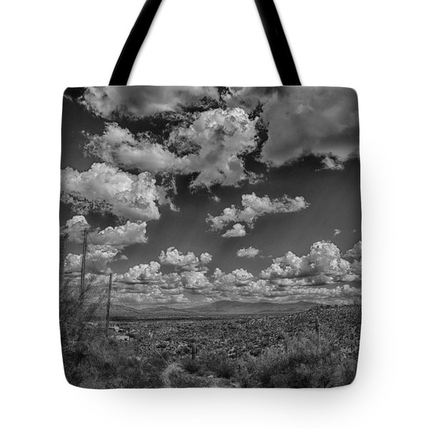 Desert Vista Tote Bag by Judi FitzPatrick