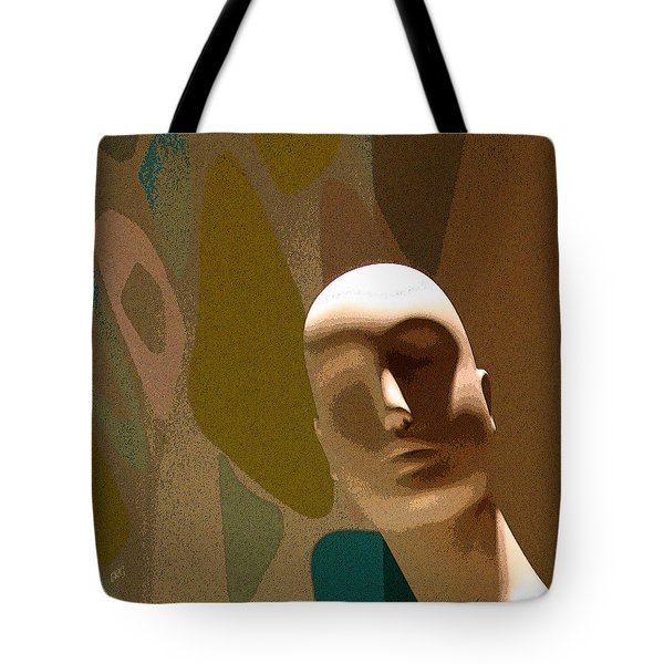 Design With Mannequin Tote Bag by Ben and Raisa Gertsberg