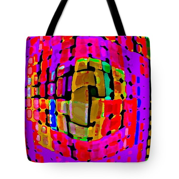DESIGNER PHONE CASE ART COLORFUL RICH BOLD ABSTRACTS CELL PHONE COVERS CAROLE SPANDAU CBS ART 138 Tote Bag by CAROLE SPANDAU