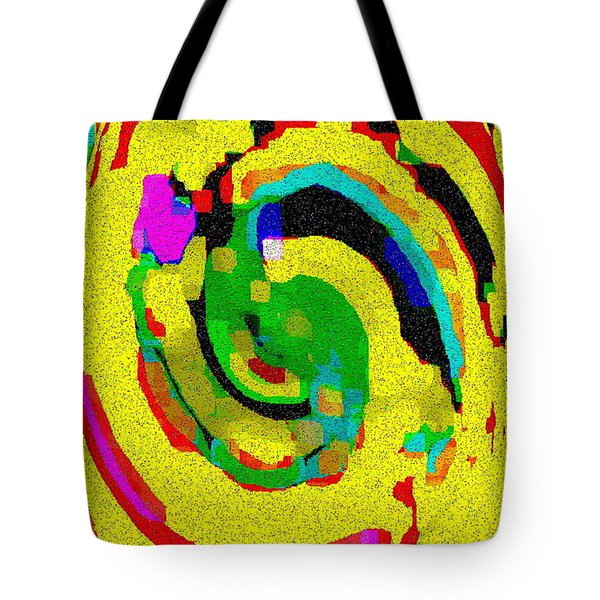 DESIGNER PHONE CASE ART COLORFUL RICH BOLD ABSTRACTS CELL PHONE COVERS CAROLE SPANDAU CBS ART 139  Tote Bag by CAROLE SPANDAU