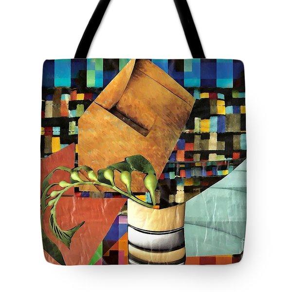 Designer Twig Tote Bag by Sarah Loft