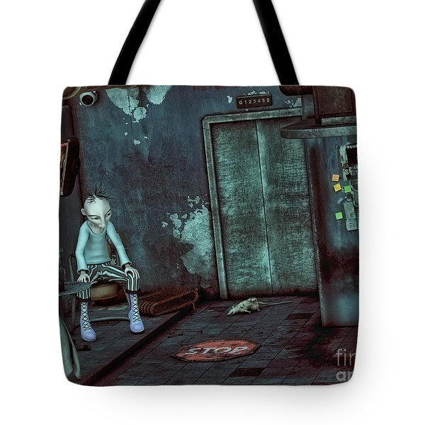 Desolation Tote Bag by Jutta Maria Pusl