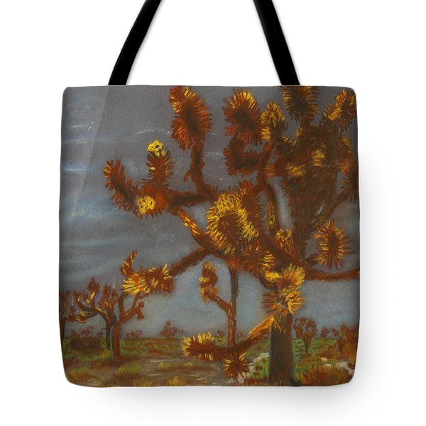 Dessert Trees Tote Bag by Michael Anthony Edwards