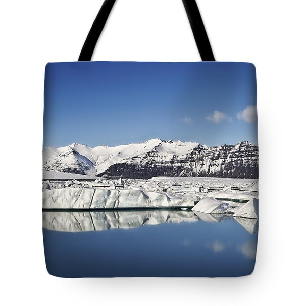 Destination - Iceland Tote Bag by Evelina Kremsdorf