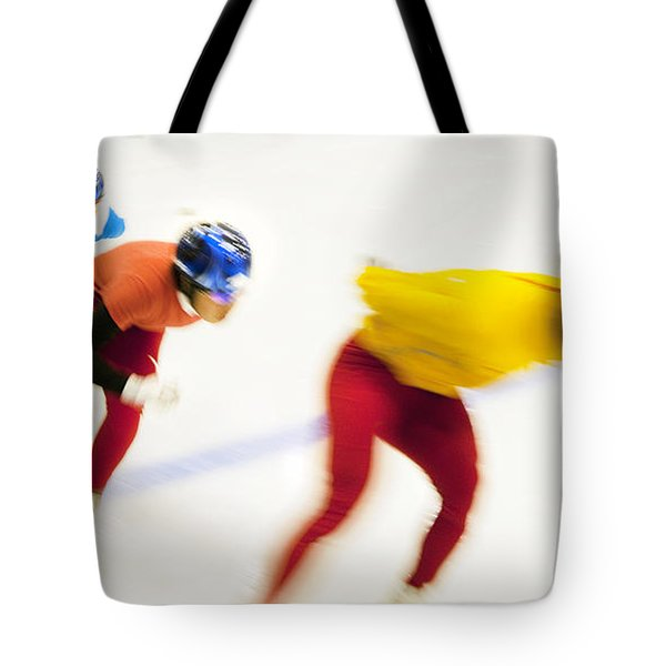 Determined Tote Bag by Theresa Tahara
