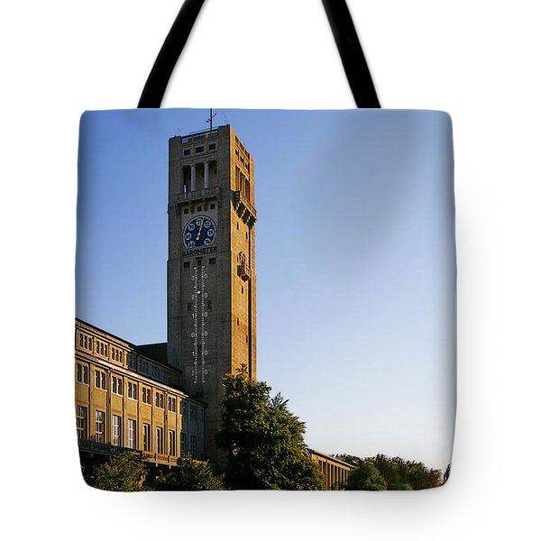 Deutsches Museum Munich - Meteorological Tower Tote Bag by Christine Till
