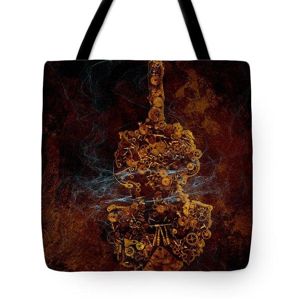 Devils Fiddle Tote Bag by Fran Riley