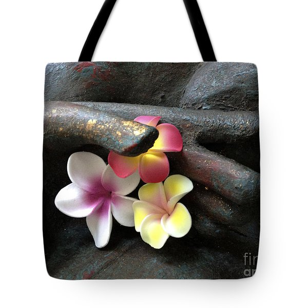 Devotional Tote Bag by Cheryl Young